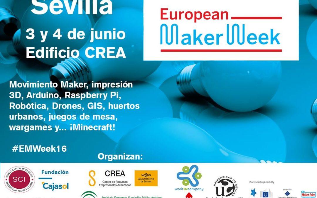 #EuropeanMakerWeek: tecnologías educativas exponenciales que cambiarán el mundo.