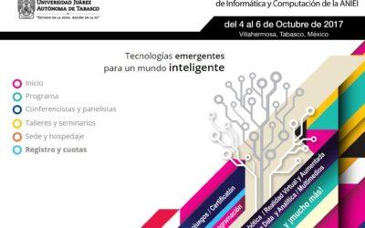 Aonia, presente en el XXX Congreso Nacional y XVI Congreso Internacional de Informática y Computación de la AINEI en México