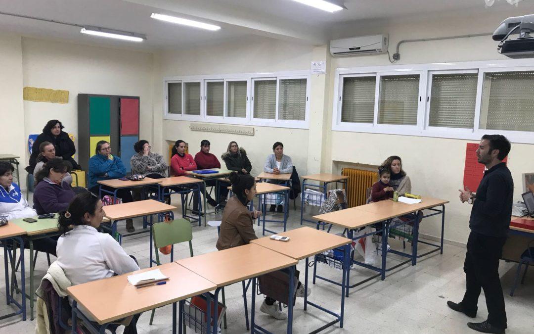 AONIA impartirá 80 talleres relacionados con la seguridad en internet y en redes a alumnos, familias y docentes de toda la Comunidad Autónoma de Andalucía