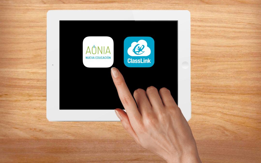 Aonia y Classlink, una alianza estratégica