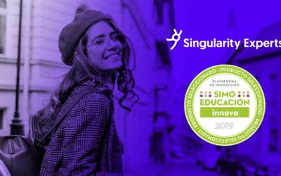 Singularity Experts, elegida por SIMO como producto destacado de vanguardia para el aula