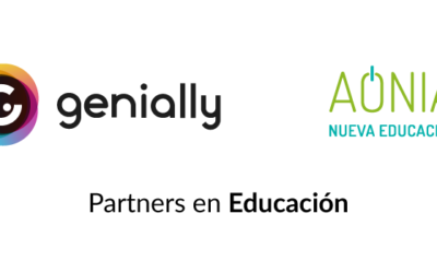 Genially y Aonia, partners en educación