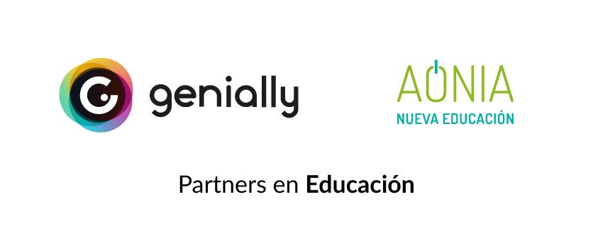 Genially y Aonia, partners en educación