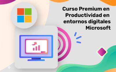 Curso de Productividad en entornos digitales. Itinerario Microsoft